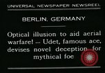 Image of aircraft Berlin Germany, 1931, second 6 stock footage video 65675051978