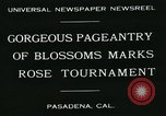 Image of procession of floats Pasadena California USA, 1931, second 6 stock footage video 65675051981