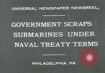 Image of submarine Philadelphia Pennsylvania USA, 1931, second 3 stock footage video 65675051982