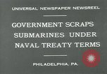 Image of submarine Philadelphia Pennsylvania USA, 1931, second 6 stock footage video 65675051982