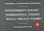 Image of submarine Philadelphia Pennsylvania USA, 1931, second 8 stock footage video 65675051982