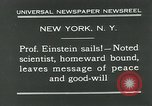 Image of Albert Einstein New York City USA, 1931, second 3 stock footage video 65675051983
