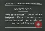 Image of Wobble Meter Akron Ohio USA, 1931, second 3 stock footage video 65675051984