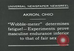 Image of Wobble Meter Akron Ohio USA, 1931, second 6 stock footage video 65675051984