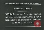 Image of Wobble Meter Akron Ohio USA, 1931, second 7 stock footage video 65675051984