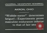 Image of Wobble Meter Akron Ohio USA, 1931, second 9 stock footage video 65675051984