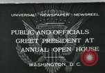 Image of President Herbert Hoover Washington DC USA, 1932, second 1 stock footage video 65675051985