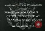 Image of President Herbert Hoover Washington DC USA, 1932, second 2 stock footage video 65675051985