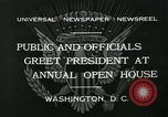 Image of President Herbert Hoover Washington DC USA, 1932, second 3 stock footage video 65675051985