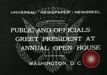 Image of President Herbert Hoover Washington DC USA, 1932, second 4 stock footage video 65675051985
