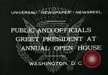 Image of President Herbert Hoover Washington DC USA, 1932, second 9 stock footage video 65675051985