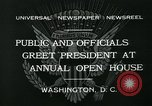 Image of President Herbert Hoover Washington DC USA, 1932, second 10 stock footage video 65675051985