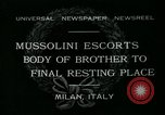 Image of Premier Mussolini Forli Italy, 1932, second 1 stock footage video 65675051987