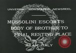 Image of Premier Mussolini Forli Italy, 1932, second 10 stock footage video 65675051987