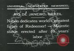 Image of Christ the Redeemer statue Rio de Janeiro Brazil, 1932, second 1 stock footage video 65675051989