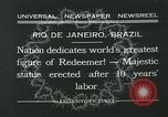 Image of Christ the Redeemer statue Rio de Janeiro Brazil, 1932, second 4 stock footage video 65675051989