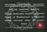 Image of Christ the Redeemer statue Rio de Janeiro Brazil, 1932, second 11 stock footage video 65675051989