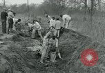 Image of prisoners fight flood Glendora Mississippi, 1932, second 15 stock footage video 65675051990