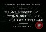 Image of 1932 Rose Bowl Pasadena California USA, 1932, second 1 stock footage video 65675051992