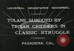 Image of 1932 Rose Bowl Pasadena California USA, 1932, second 7 stock footage video 65675051992
