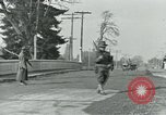Image of National Guard troops patrol after Armistice Day incident Centralia Washington USA, 1919, second 2 stock footage video 65675052001