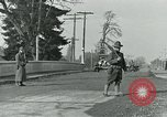Image of National Guard troops patrol after Armistice Day incident Centralia Washington USA, 1919, second 3 stock footage video 65675052001