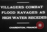 Image of flooded streets Charenton France, 1930, second 3 stock footage video 65675052007