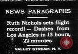 Image of Ruth Nichols Valley Stream New York USA, 1930, second 1 stock footage video 65675052011