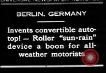 Image of man driving car Berlin Germany, 1930, second 1 stock footage video 65675052012