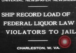Image of Prohibition violators Charleston West Virginia USA, 1930, second 1 stock footage video 65675052015