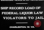 Image of Prohibition violators Charleston West Virginia USA, 1930, second 2 stock footage video 65675052015