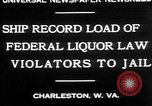 Image of Prohibition violators Charleston West Virginia USA, 1930, second 3 stock footage video 65675052015