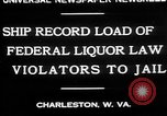 Image of Prohibition violators Charleston West Virginia USA, 1930, second 5 stock footage video 65675052015