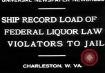 Image of Prohibition violators Charleston West Virginia USA, 1930, second 6 stock footage video 65675052015