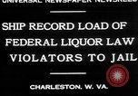 Image of Prohibition violators Charleston West Virginia USA, 1930, second 7 stock footage video 65675052015