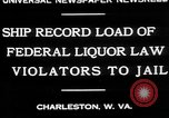 Image of Prohibition violators Charleston West Virginia USA, 1930, second 8 stock footage video 65675052015