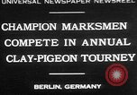 Image of contestants Berlin Germany, 1930, second 1 stock footage video 65675052016
