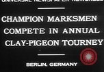 Image of contestants Berlin Germany, 1930, second 2 stock footage video 65675052016