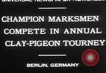 Image of contestants Berlin Germany, 1930, second 4 stock footage video 65675052016