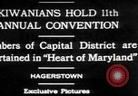 Image of President of Kiwanis International McDavid Hagerstown Maryland USA, 1930, second 1 stock footage video 65675052017