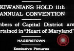 Image of President of Kiwanis International McDavid Hagerstown Maryland USA, 1930, second 7 stock footage video 65675052017