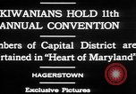 Image of President of Kiwanis International McDavid Hagerstown Maryland USA, 1930, second 12 stock footage video 65675052017