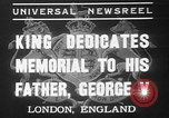Image of King George VI London England United Kingdom, 1937, second 1 stock footage video 65675052021