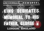 Image of King George VI London England United Kingdom, 1937, second 5 stock footage video 65675052021