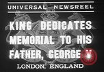 Image of King George VI London England United Kingdom, 1937, second 6 stock footage video 65675052021