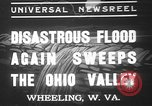 Image of civilians Wheeling Ohio USA, 1937, second 1 stock footage video 65675052023