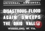 Image of civilians Wheeling Ohio USA, 1937, second 2 stock footage video 65675052023