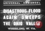Image of civilians Wheeling Ohio USA, 1937, second 4 stock footage video 65675052023