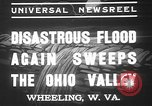 Image of civilians Wheeling Ohio USA, 1937, second 6 stock footage video 65675052023