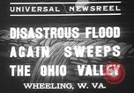 Image of civilians Wheeling Ohio USA, 1937, second 7 stock footage video 65675052023
